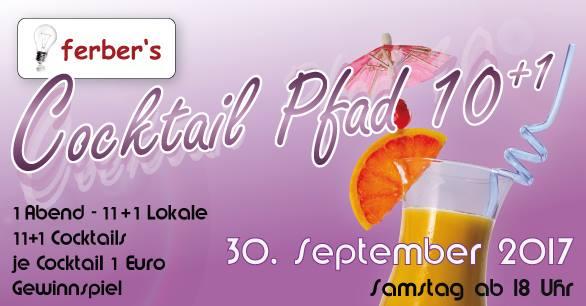 Cocktailpfad 30 Sep 2017