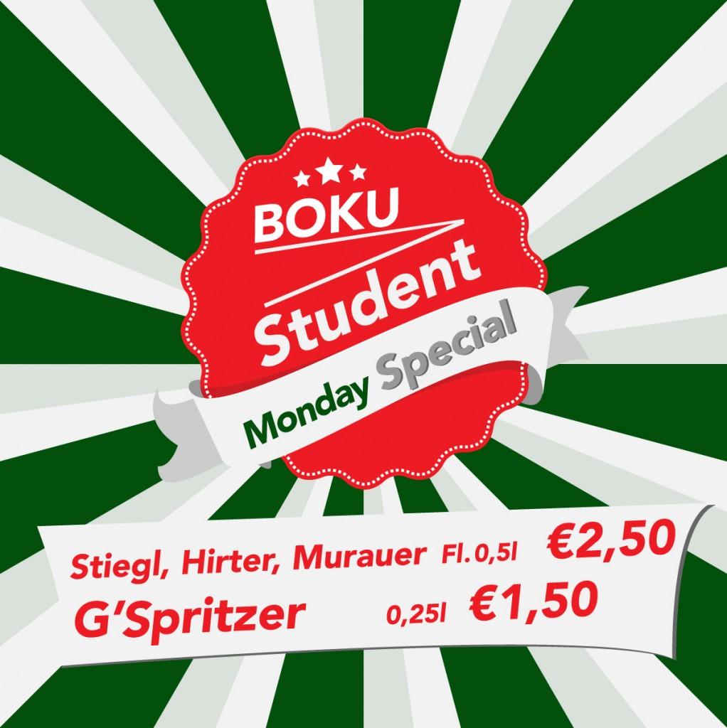 Student Special Monday Na-nÓg