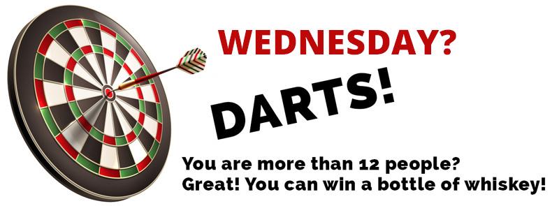 wednesday darts